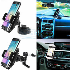 Qi Wireless Car Charger Air Vent/Suction Cup Charging Mount Holder For Cellphone