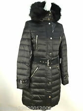 ZARA BROWN DUCK DOWN FEATHER LONG QUILTED PUFFA COAT SIZE S_M