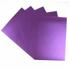 Pearlised A4 Paper Different Colours 5 Sheets Pack 95gsm Cardmaking Scrapbooking