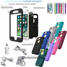iPod Touch 5th / 6th Gen - Armor Belt Clip Hard & Soft Rubber Hybrid Case Cover