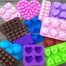Valentine's Day Lovely Silicone Mold Chocolate Butter Candle Candy Ice Soap Jell