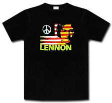 JOHN LENNON SHIRT NEW S / M / L / XL GIVE PEACE A CHANCE THE BEATLES