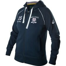 Rugby Qantas Wallabies Ladies Womens Zip Supporter Hoodie Hoody, Size 8-18