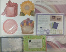 Creative Memories Photo Mats and Journaling Boxes U PICK