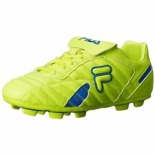 Fila FORZA III RB Mens Safety Yellow Prince Blue Athletic Outdoor Soccer Cleats