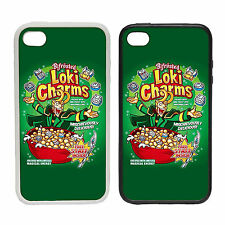 Loki Charms - Printed Rubber and Plastic Phone Cover Case - Comic Hero Inspired