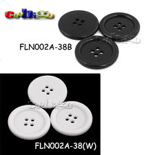 38mm Resin Button 4 Holes Sewing Craft  for Bag Shoe Garment Accessories