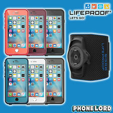 Genuine Lifeproof Fre waterproof case & Lifeactiv Armband iPhone 6 6S PLUS tough