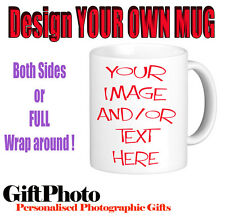 Mugs for Loved Ones - Choose Design or Printed with YOUR image
