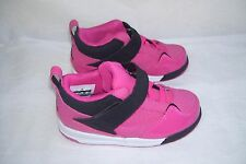 New! Girls Toddler Nike Jordan Flight 45 High Shoes 364759-607 Pink/Black 48I