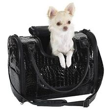Fashion Faux Crocodile Pet Dog Cat Carrier/Tote/ Travel Handbag Zack & Zoey