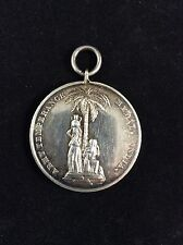 Victorian Silver British Army Temperance Medal 1897 India