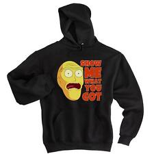 Show Me What You Got Mens Hoodie Rick And Morty Soft Comfy Top