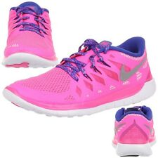 Nike Free 5.0 (GS) Fitness Ladies / Children Running shoes Trainers pink 644446