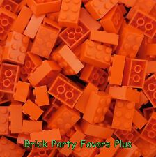 LEGO 2X3 Orange Bricks Lot of 50-200 Lego 3002 Bricks 2 x 3 Blocks Elements
