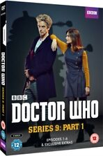 Doctor Who Series 9 Part 1 (Episodes 1-6) DVD - BRAND NEW AND SHRINK WRAPPED