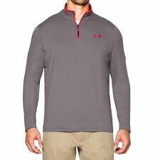 UNDER ARMOUR MENS INFRARED COLDGEAR 1/4-ZIP PULLOVER SHIRT TANSTONE #1259677-NWT