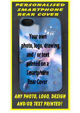 PERSONALISED Custom Printed REAR COVER CASE for APPLE iPOD TOUCH 5 / 4 any photo