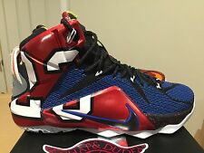 NIKE LEBRON XII SE 12  802193 909 QS RARE LE WHAT THE LEBRON DS BRAND NEW