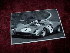 Photo / Photograph  FERRARI P3 Surtees / Parkes  1000 kms du Nurburgring 1966 //