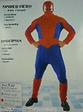Mens Costume Dress Up Fancy Super Hero Spiderman Size Small to Medium
