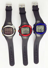 Pulse Heart Rate Monitor Wrist Watch Calories Counter Sports Fitness Exercise DI