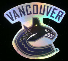 Vancouver Canucks Decal Sticker NHL Hockey Officially Licensed