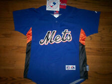 DAVID WRIGHT NEW YORK METS NEW MLB MAJESTIC AUTHENTIC COOL BASE KIDS JERSEY