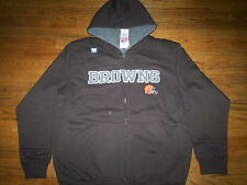 CLEVELAND BROWNS NEW NFL PRESEASON FAVORITE HEAVYWEIGHT HOODED SWEATSHIRT