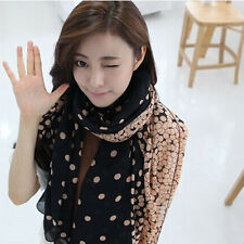 1X High Quality Candy colors silk Women's Long Scarf Wraps Shawl Stole Soft Well