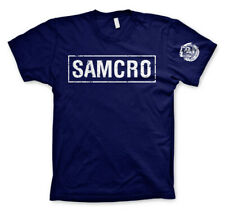 Officially Licensed Sons Of Anarchy SAMCRO Distressed T-Shirt S-XXL Sizes
