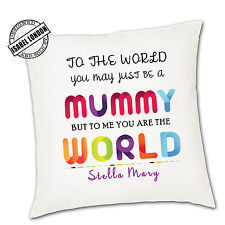 Personalised Mothers Day Cushion Cover.Personalise with your own text -ILVC 1050