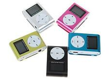 ***** Up to 8GB Support Micro SD TF Mini Clip Metal LCD Screen MP3 Music Player