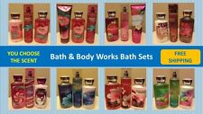 BATH & BODY WORKS BATH/SHOWER SETS - SHOWER GEL / LOTION / FRAGRANCE MIST