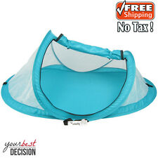 Baby Travel Crib Insect Protection Bed Beach Pop Up Tent Portable Sun Shade Bugs