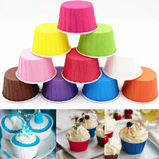 50/100Pcs Paper Cake Cup Liners Cupcake Case Muffin Cake Baking Mould DIY Craft