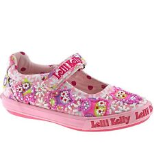 Lelli Kelly Kids Owl Pink Fantasy Dolly Shoes LK9146 (BC02) + Free Gift.