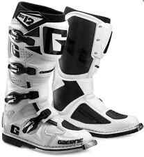 MENS GAERNE WHITE DUAL STAGE PIVOT SYSTEM OFFROAD BOOTS DIRT MX 8 9 10 11 12 13