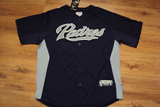 SAN DIEGO PADRES NEW MLB AUTHENTIC MAJESTIC COOL BASE JERSEY