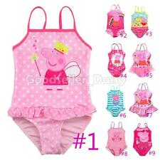 Baby Kids Girls One-piece Swimsuit Swimwear Bathers Swimmers 2 3 4 5
