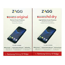 ZAGG InvisibleShield Original/HD Screen Protector for Samsung Galaxy S7 Edge MP