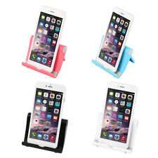 Multi-angle Tablet Holder Adjustable Stand White Universal For iPad 2 3 iPhon HV