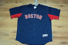 BOSTON RED SOX NEW MLB AUTHENTIC MAJESTIC COOL BASE JERSEY