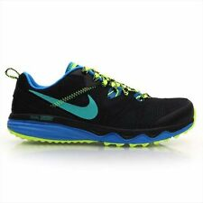 NIKE DUAL FUSION TRAIL MEN RUNNING SNEAKER SHOES BLUE BLACK 652867 007 A+