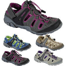 LADIES NORTHWEST VELCRO SPORTS SANDALS WALKING BEACH TRAIL SUMMER CLOSED SHOES