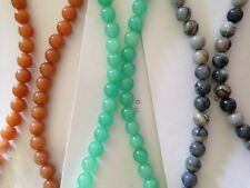 "Semi Precious Gemstone Bead 18"" Necklace"