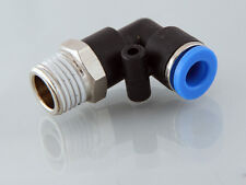 NPT Male Swivel Elbow Push Fit Metric Push in Fittings with NPTF Threads