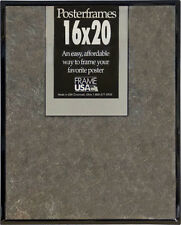 16x20 Poster Frame Pack of 12 Frames - Black, Gold, Silver, or Clear