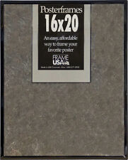 16x20 Poster Frame Pack of 6 Frames - Black, Gold, Silver, or Clear