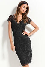 NEW EziBuy Dress Grace Hill Lace Layered Womens Clothing Womens Dresses